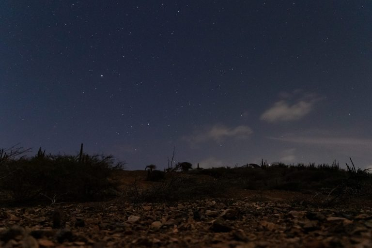 Starry sky near Natural Pool