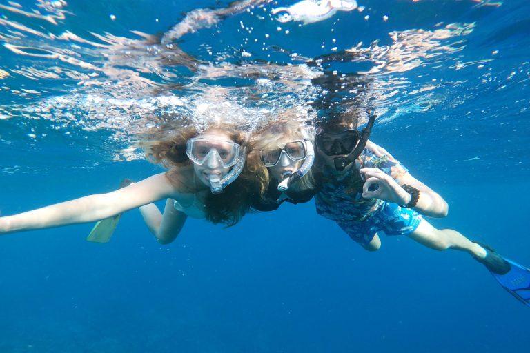 Snorkeling near Mangel Halto beach in Aruba