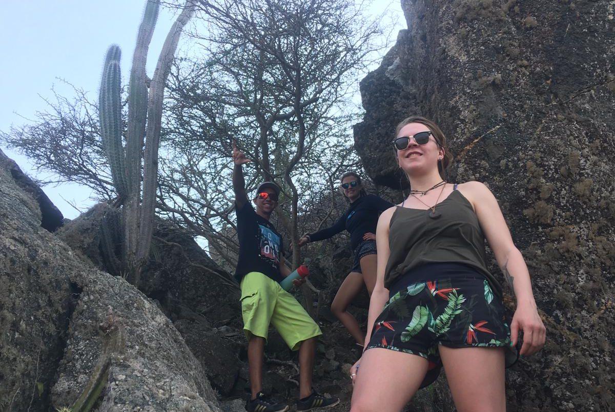 Climbing Hooiberg
