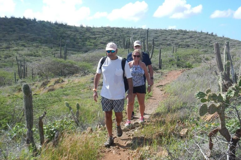 Hiking with a private guide in Aruba's National Park