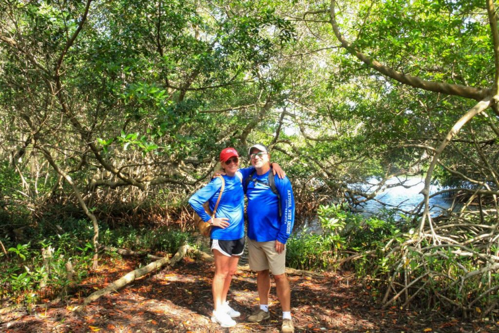 Exploring an Aruban Mangrove Forest with Fins and Feet Nature Tours